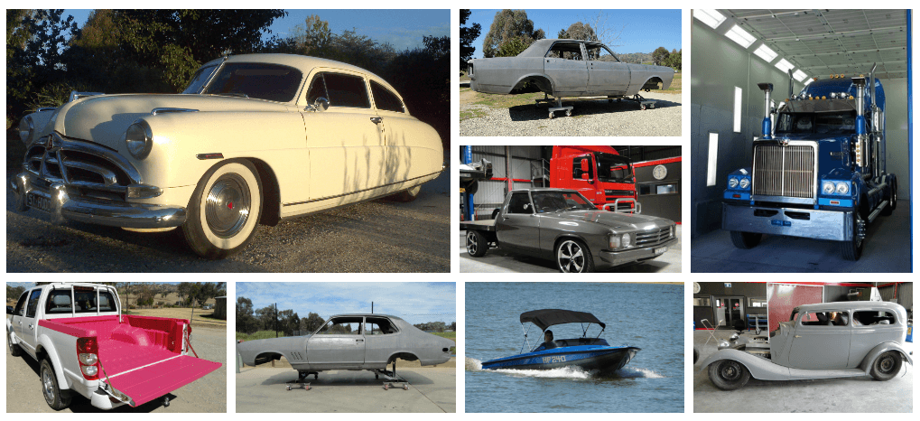Classic cars, diesel trucks , boats and more. Recoat does it all.