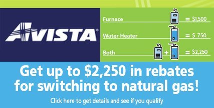 Avista Rebates in Spokane, WA