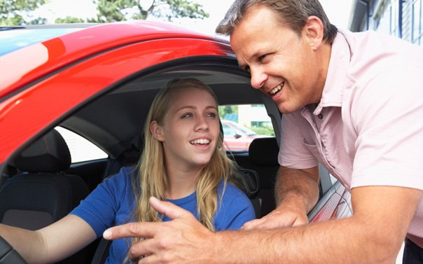 Putting Your Teen Behind The Wheel