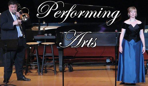 performing art in central arkansas