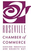 Roseville California Chamber of Commerce logo image