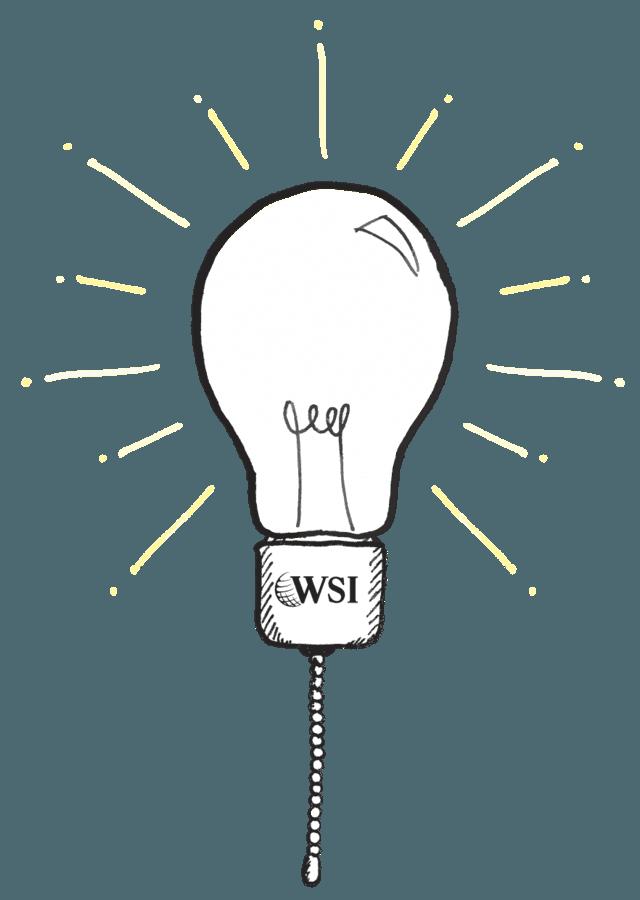ampoule crayonnée WSI