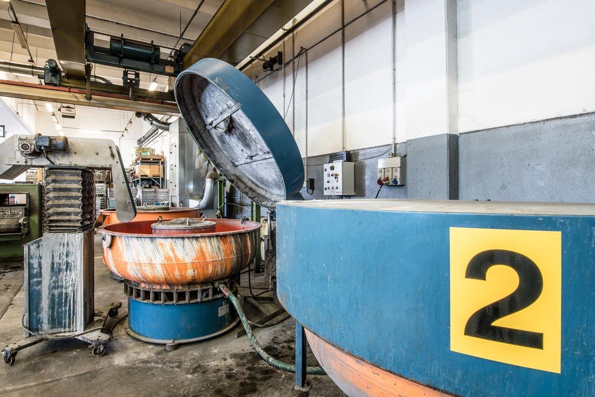 barilatura metalli nel torinese