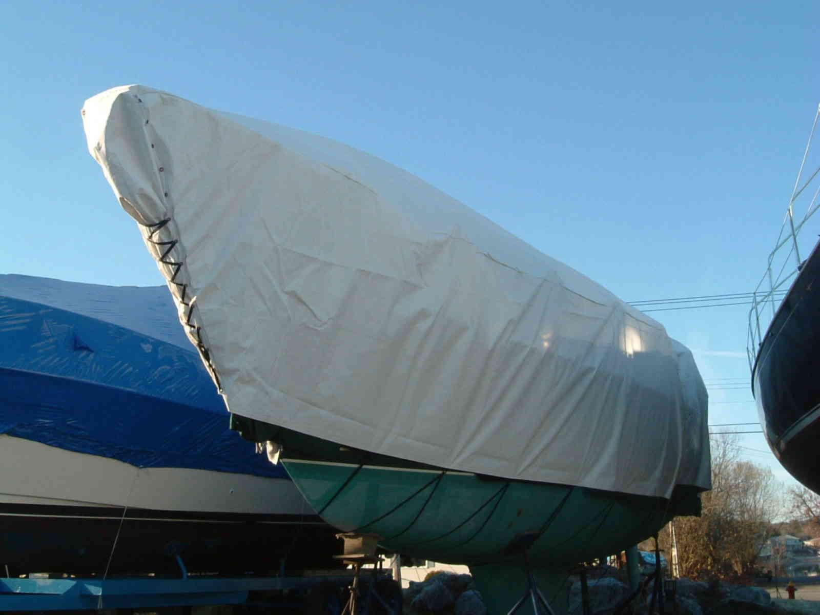 Cover-Tech Inc. Winter Boat Covers 1-888-325-5757 Cover Tech Tarps