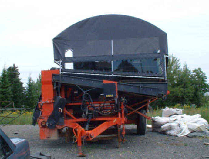 Cover-Tech Inc. Farm Equipment Covers 1-888-325-5757 Cover Tech Tarps