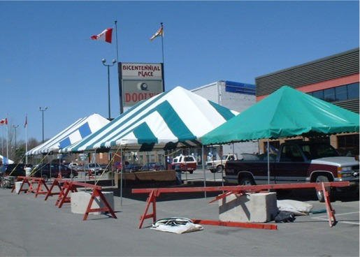 Cover-Tech Inc. Party Tents & Shade Canopies 1-888-325-5757 Cover Tech Tarps