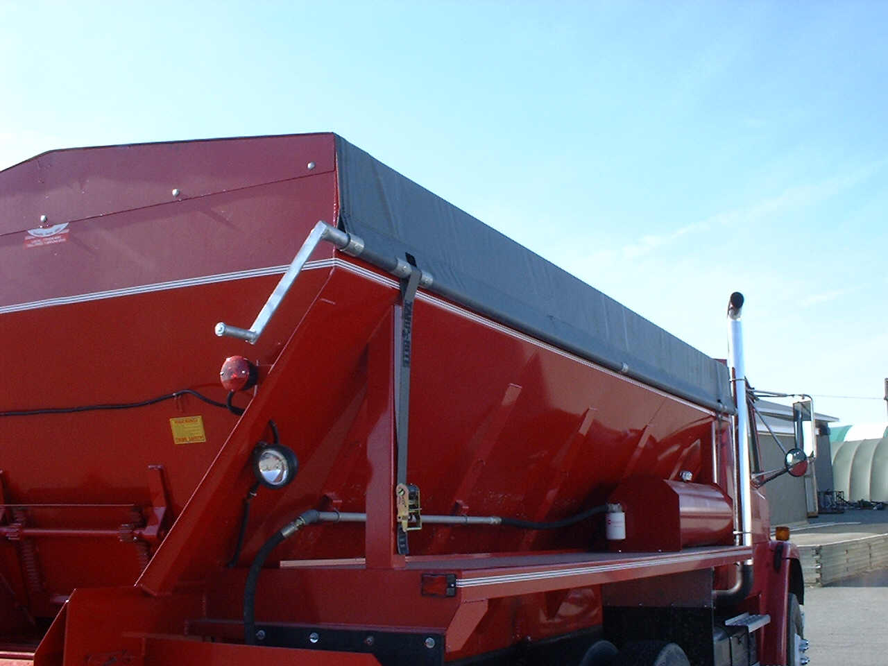 Side Roll Kits for Dump Trailers and Bulk Bodies