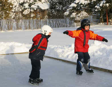 Cover-Tech Inc. Skating Rink Liners for personal and commercial use