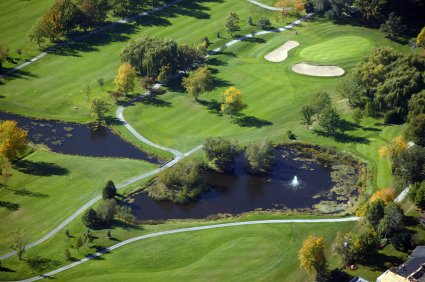 Pond Liner for Golf Course from Cover-Tech Inc. 1-888-325-5757