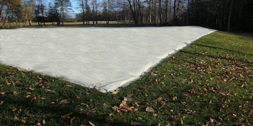 84' x 125' breathable greens cover from Cover-Tech Inc.