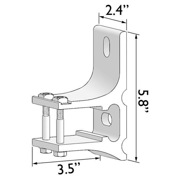 ADALIA X3M PLUS™ Extended Wall Bracket