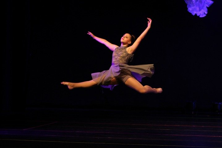 Dancer in the air