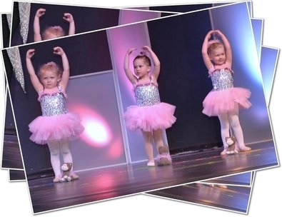 Three Child Ballerinas