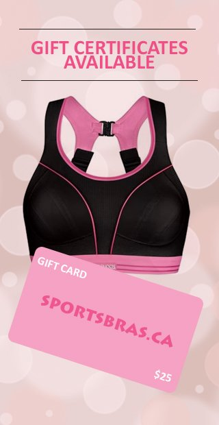GIFT CERTIFICATES sports bra