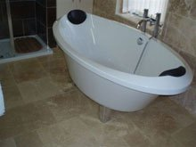 Bathrooms - Southport - Cook Construction and Maintenance Ltd - Tub After