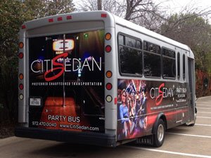 limo partybus rental dallas tx