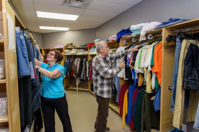 Eva Rothwell Centre Clothing Room