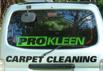 Van used by cleaners in the Eastern Bay of Plenty region