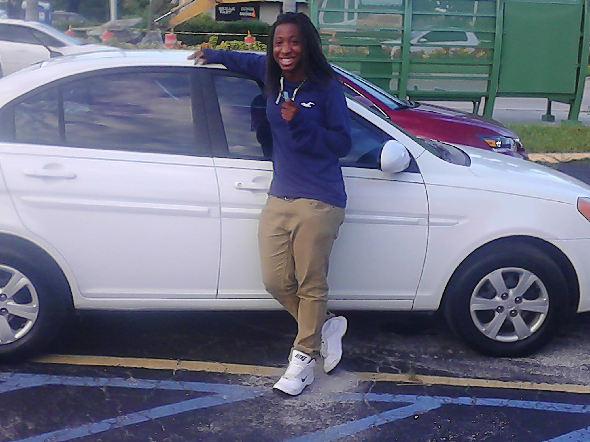 Congratulations ! Another Happy Ur Auto Advisor Customer In 24 hrs I found Cannie Thomas for her Daughter A 2008 Hyundai Accent White auto a/c am/fm/cd 57k low miles one owner for $5400