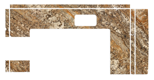 Digital Slab Layout for Counter Top