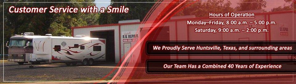 Huntsville RV Repair & Supply Huntsville TX 77320
