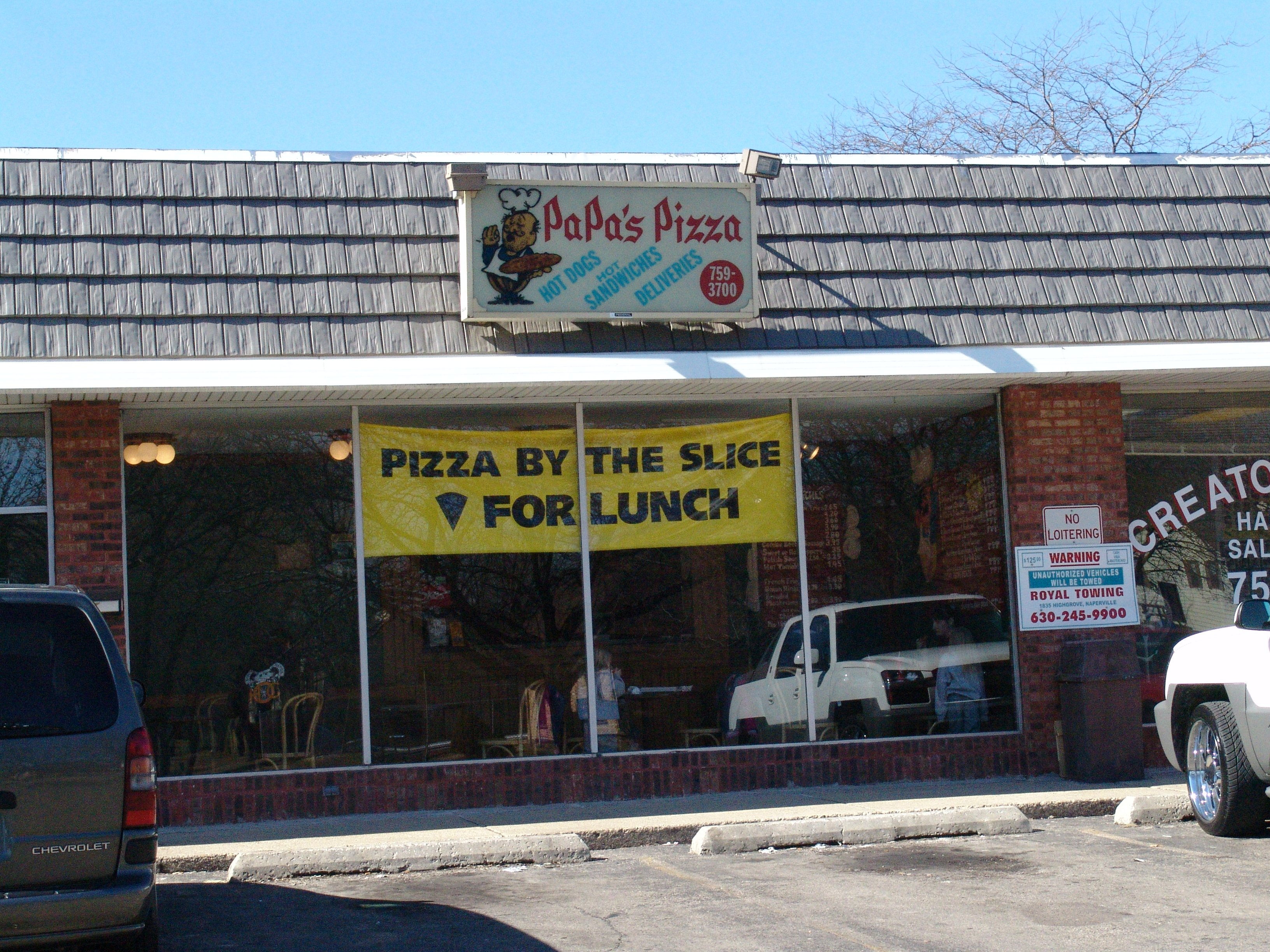 Papa's Pizza Place - Bolingbrook