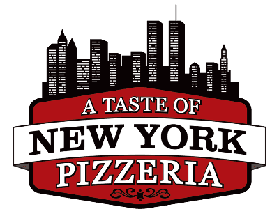 a taste of new york pizzeria logo