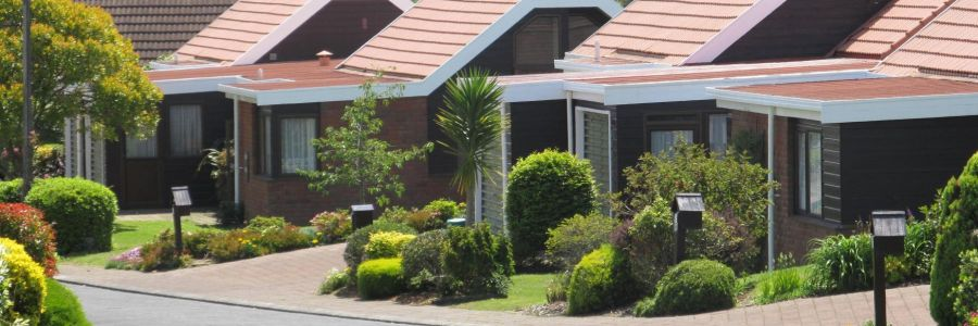 Retirement home village in Auckland