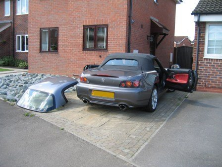 Hard and soft tops are inspected