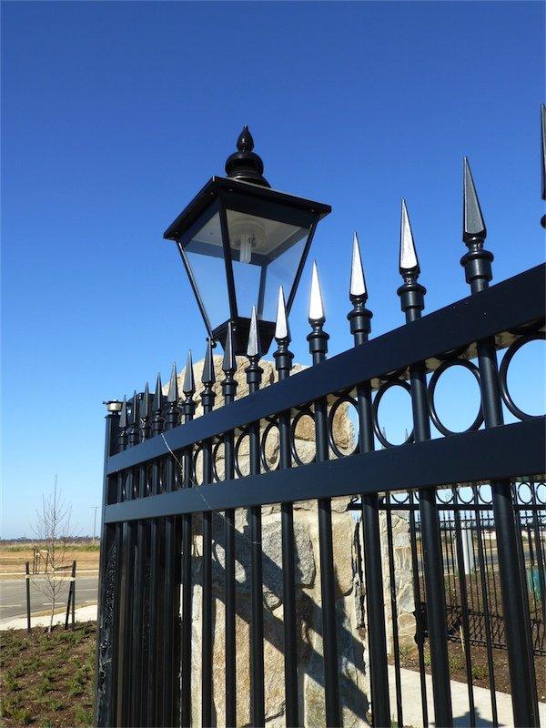 iron fence