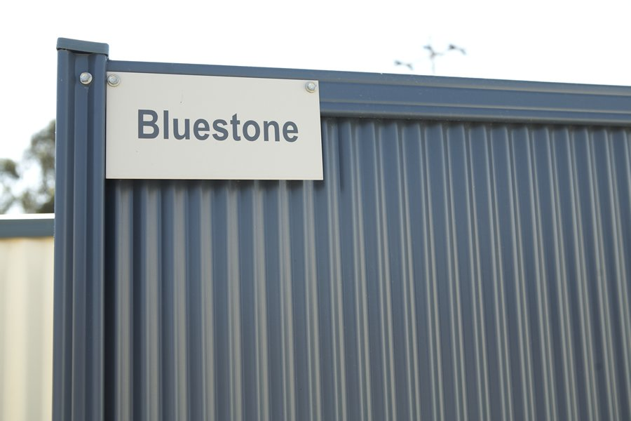 bluestone fence