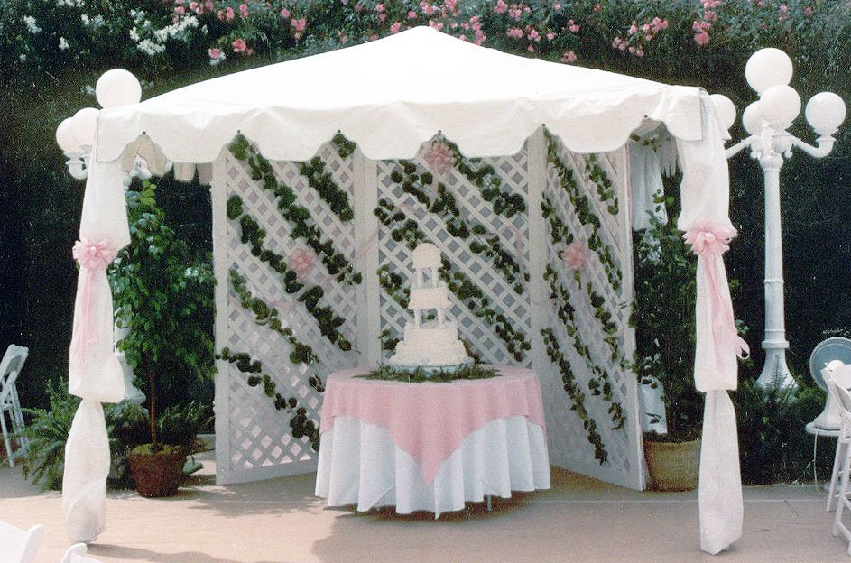 and Tents, Outdoor Structure rentals, Patio coverings, Gazeebo rentals