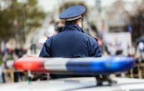 police car in Pell City, AL