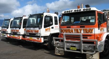Transport Services | Nowra Tilt Tray & Crane Truck Hire