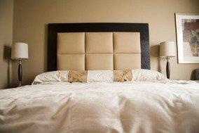 beige colored bedroom set