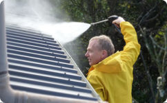 Expert ready for high pressure house washing in Auckland