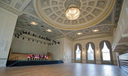 Historic building lighting Scotland