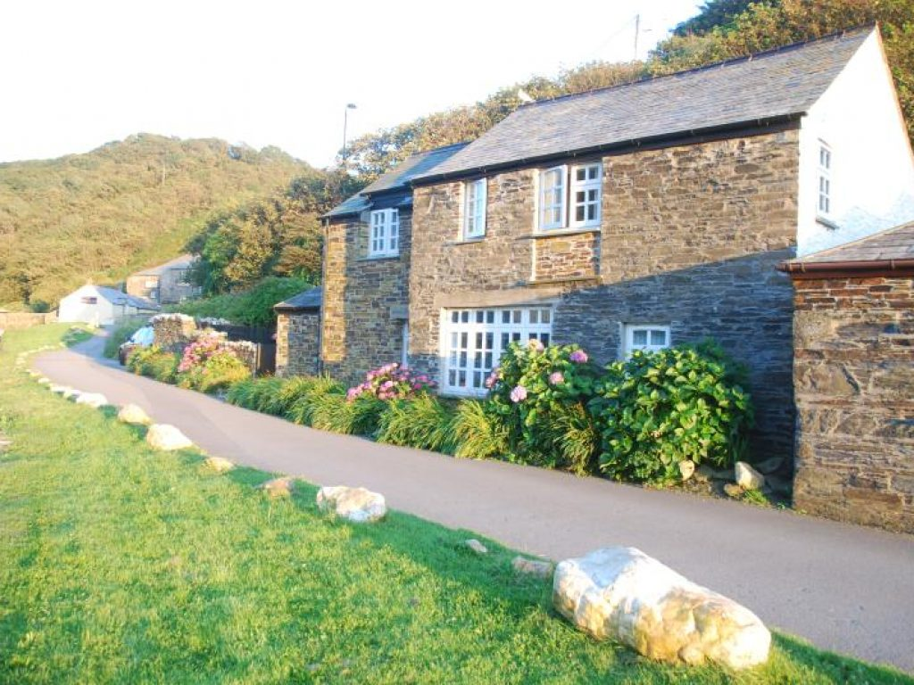 From The Harbour End The Old Store House Holiday Cottage Boscastle Cornwall