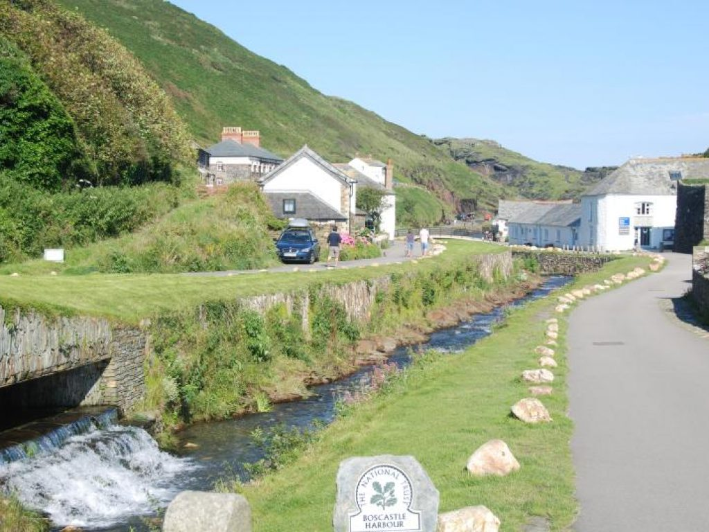From The Bridge The Old Store House Holiday Cottage Boscastle Cornwall