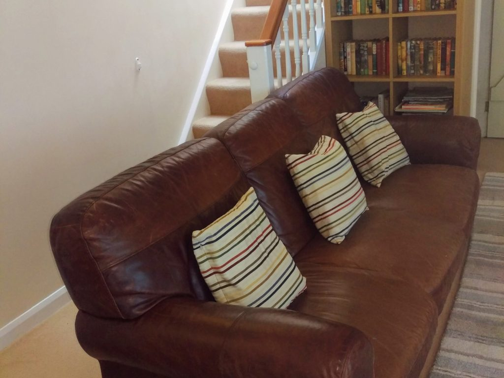 Comfy Sofa The Old Store House Holiday Cottage Boscastle Cornwall