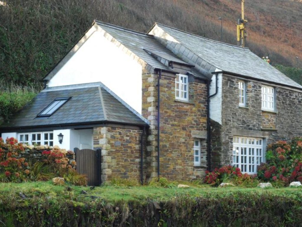From Across The Stream The Old Store House Holiday Cottage Boscastle Cornwall