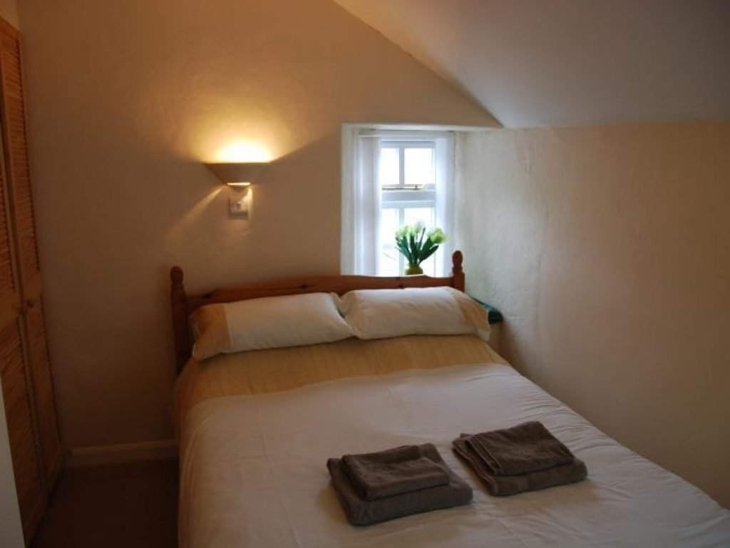 Second Double Room The Old Store House Holiday Cottage Boscastle Cornwall