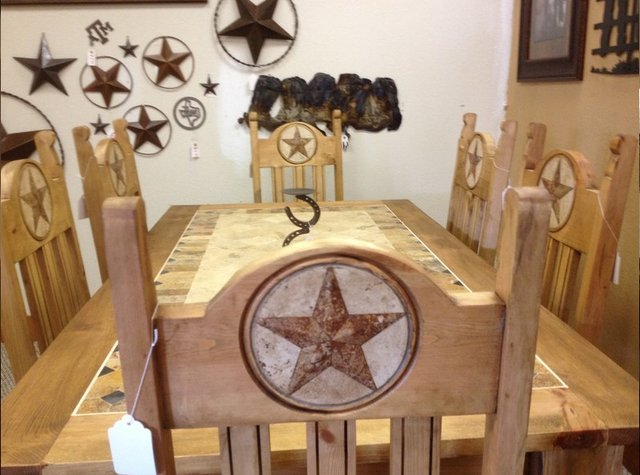 Rustic Dining Room Furniture in Brazos Valley, TX