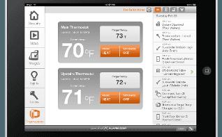 Tablet app Access Control