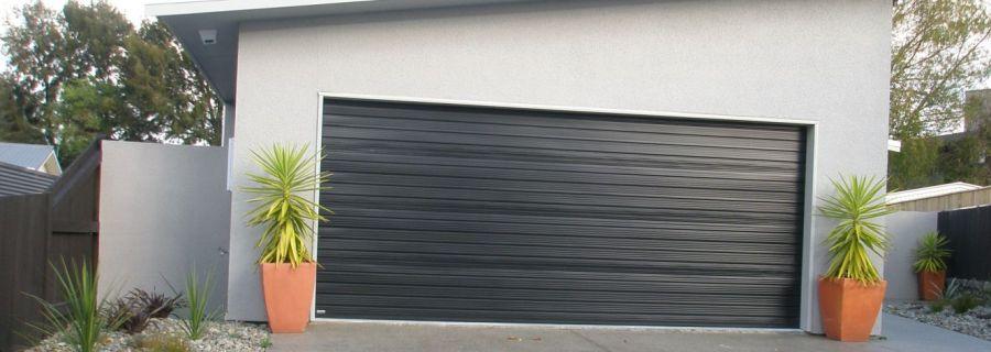 Roller garage door in Manawatu
