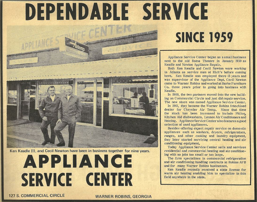 Dependable Service Since 1959