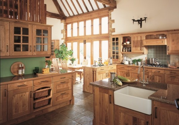 Arundel wooden kitchen design in Bristol