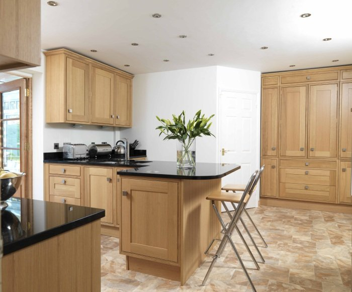 Westminster wooden kitchen design in Bristol
