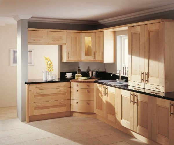 Lansdowne wooden kitchen design in Bristol