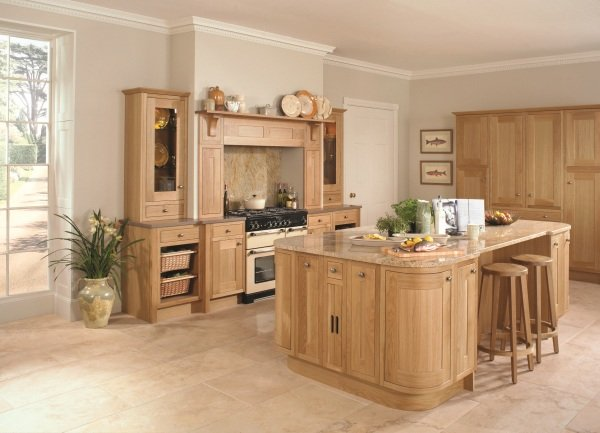 Petworth wooden kitchen design in Bristol